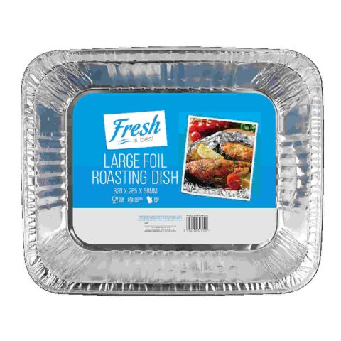 Large Deep Foil Oven Roasting Tray 32cm